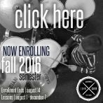 john carter drummer click here enroll FALL 2016