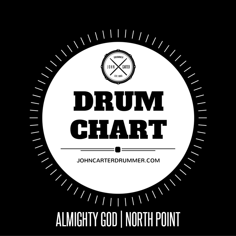DRUM CHART - ALMIGHTY GOD
