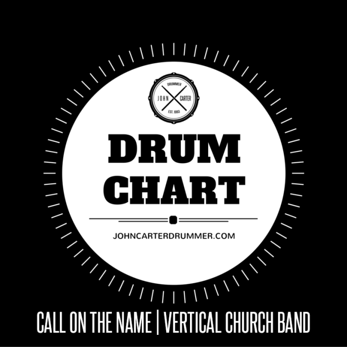 DRUM CHART - CALL ON THE NAME
