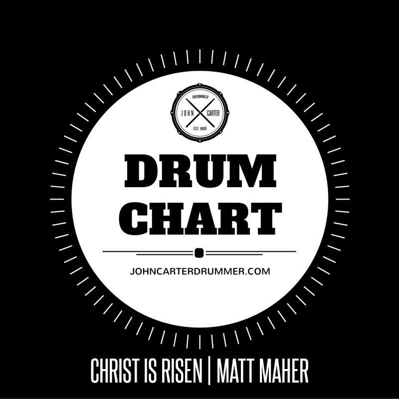 DRUM CHART - CHRIST IS RISEN