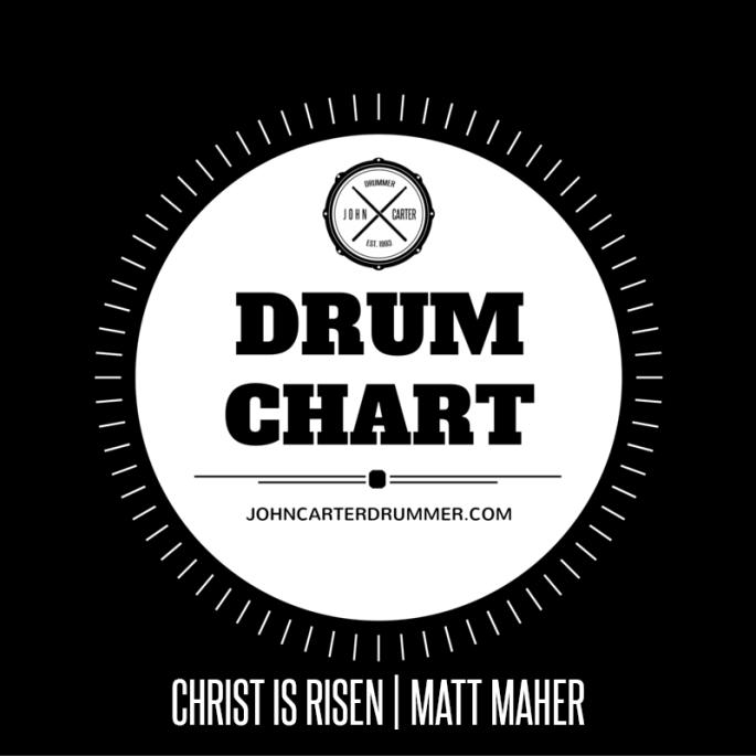 DRUM CHART - CHRIST IS RISEN