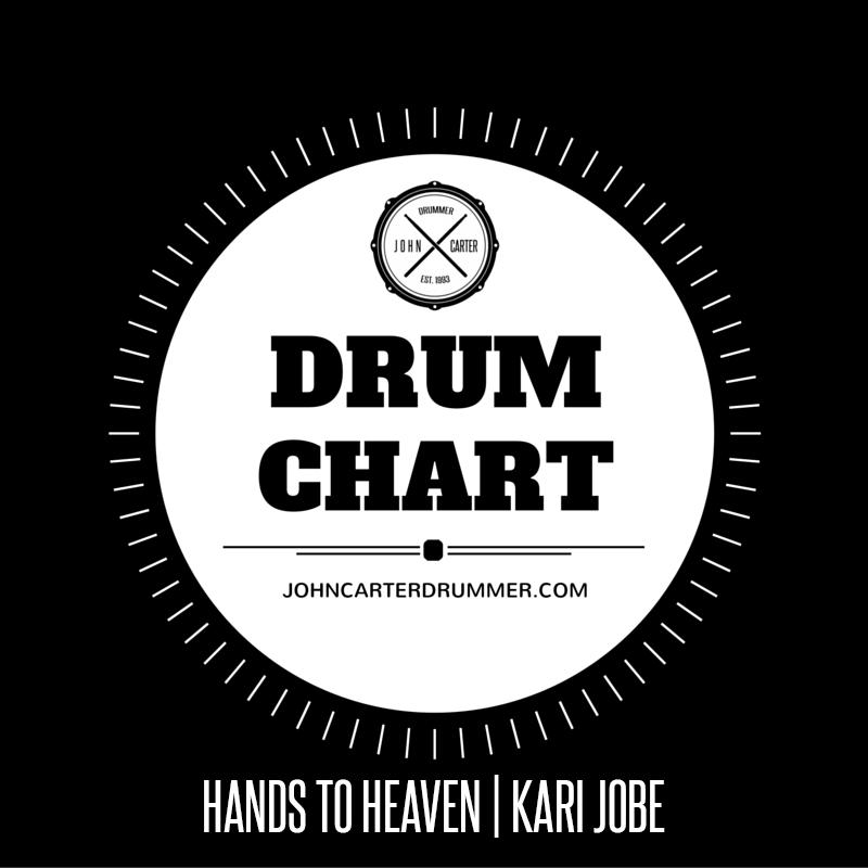 DRUM CHART - HANDS TO HEAVEN