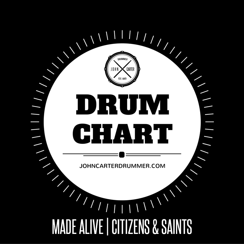 DRUM CHART - MADE ALIVE